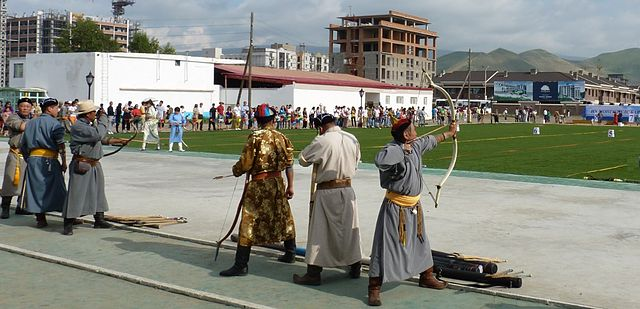 archery mongolian