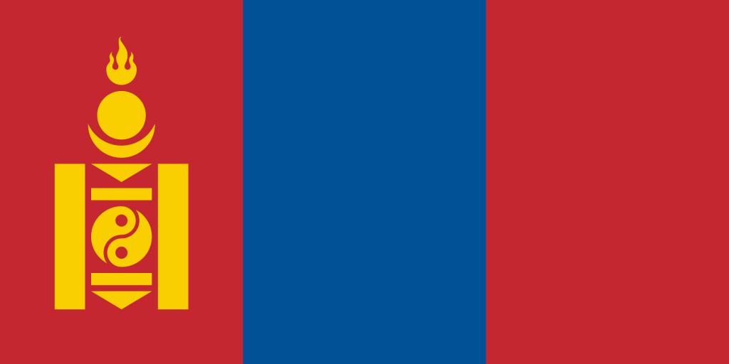 Drapeau Mongole